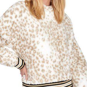 Nanette Lepore Sweaters - NANETTE LEPORE PLAY Teddy Bear Stripe Cuff Sweater